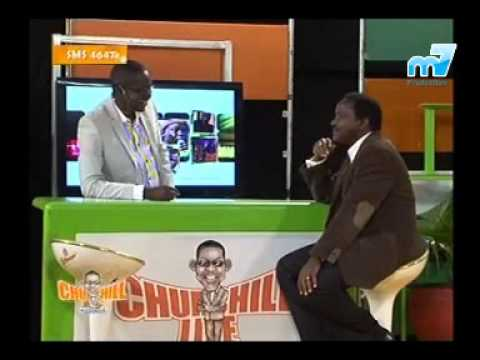 H.E. Kalonzo Musyoka on Churchill Live Show.
