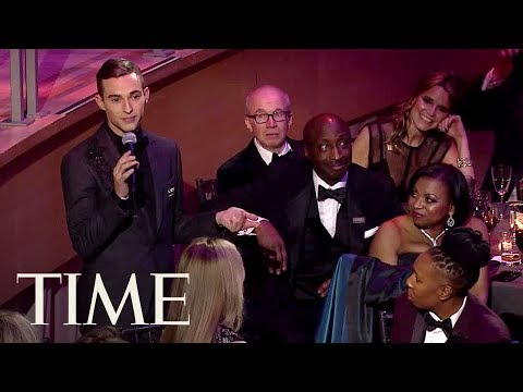 Adam Rippon Honors His Mom & Nicole Kidman With Toast At The TIME 100 Gala   TIME 100   TIME