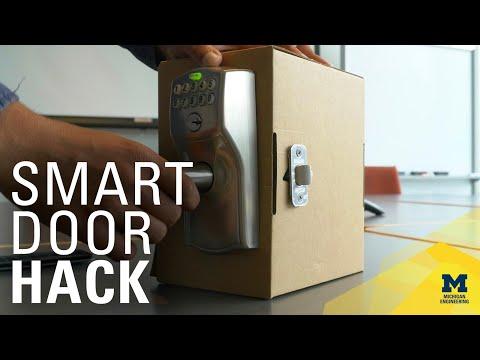 Watch Engineers Hack a Door Lock   MichEpedia   MconneX