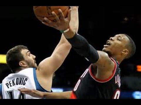 NBA 2K14 PS4 - Trail Blazers Vs (My Gm) Timberwolves Game 51 of 82