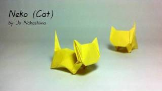 Origami Neko - Cat (jo Nakashima)