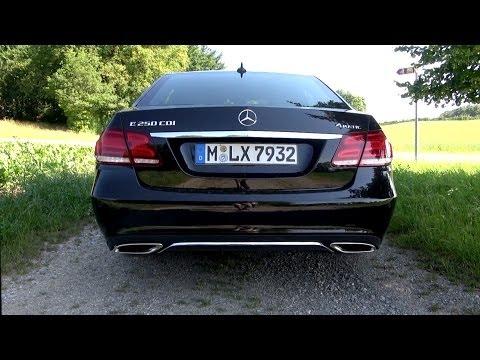 2014 Mercedes E 250 CDI 204 HP Test Drive