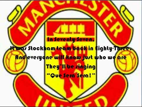 Manchester United Anthem Lyrics (better Full Music Quality) video