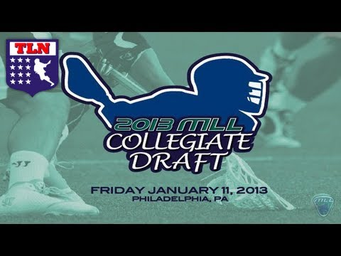 2013 MLL Collegiate Draft