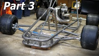 Building a Kawasaki KX 250 Shifter Kart Part 3