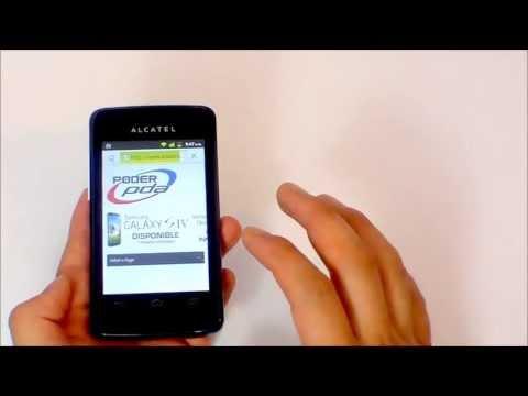 Alcatel OT 4010 T POP  - Análisis en Español HD