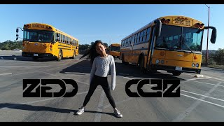 Download Lagu The Middle - Zedd, Maren Morris, Grey | Chloe Kim - 8 Year old Choreographer Gratis STAFABAND