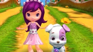 "Strawberry Shortcake Berry Rush ""Plum Pudding with DOG"" Gameplay makeover for kid. Ep.32"