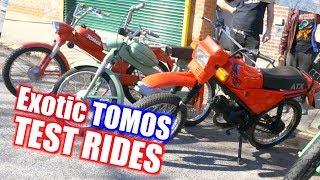 Exotic TOMOS Test Rides