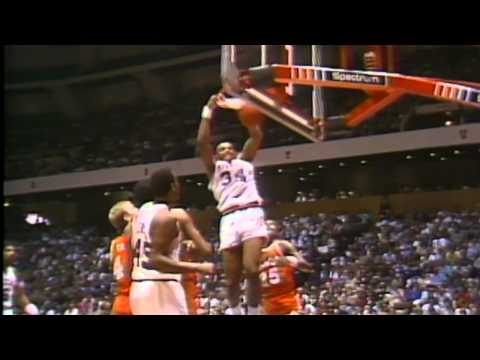 Charles Barkley's First NBA Game Highlights