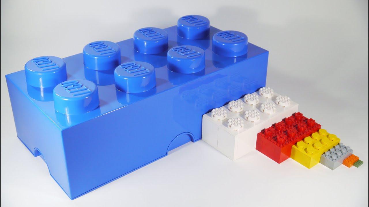 how to build big lego bricks 2x 3x 4x 6x youtube