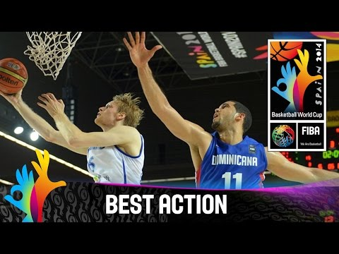Finland v Dominican Republic - Best Action - 2014 FIBA Basketball World Cup
