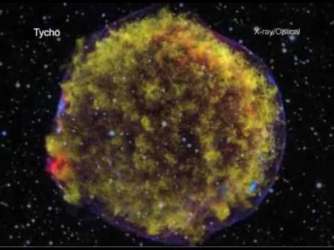 NASA ASTRONOMY VIDEO: Chandra Telescope - A Tour of Tycho's Supernova Remnant