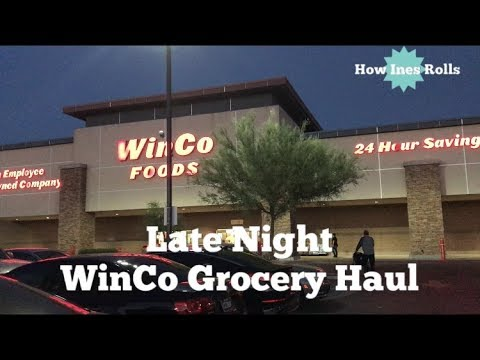 Late Night WinCo Grocery Haul | What $100 of Groceries Looks Like For My Family?