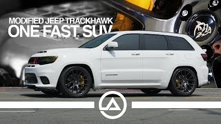 Modified Jeep Trackhawk Making 975 hp is Insane!!