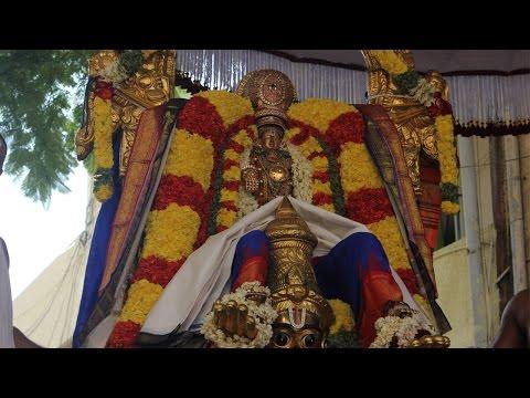 Srinivasn Garuda Seva with Vedantha Desikar - Vedantha Desikar Devasthanam Mylapore