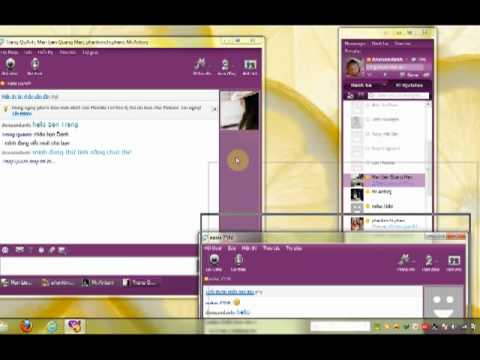 Yahoo! Messenger 11 5   Chat Tab