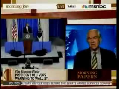 Ron Paul Blasts Corporatism