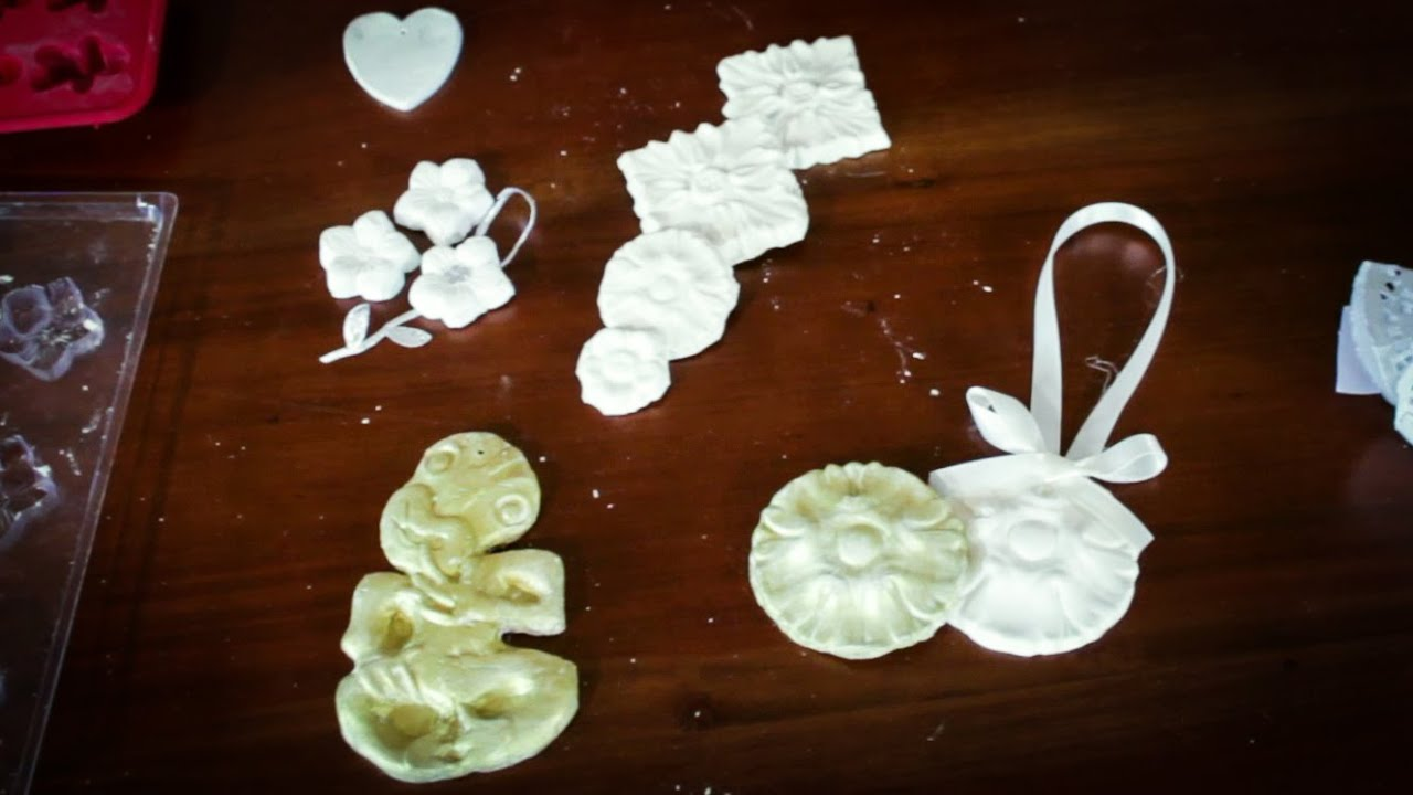 Christmas Decorations Made From Clay : Arts and crafts tutorial how to make air dry clay