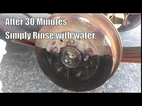 How to Remove Rust off Brake Rotors De Rust