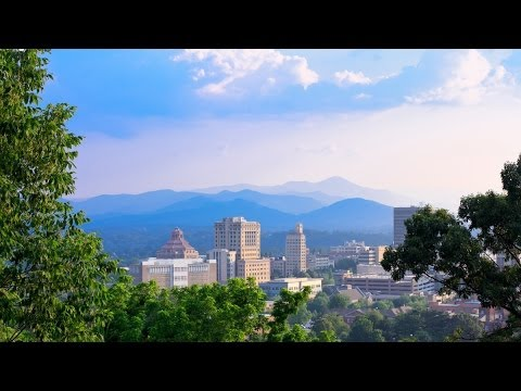 Spring Video Time Lapse - Epic Mountain Landscapes & Skyscapes in Asheville, NC