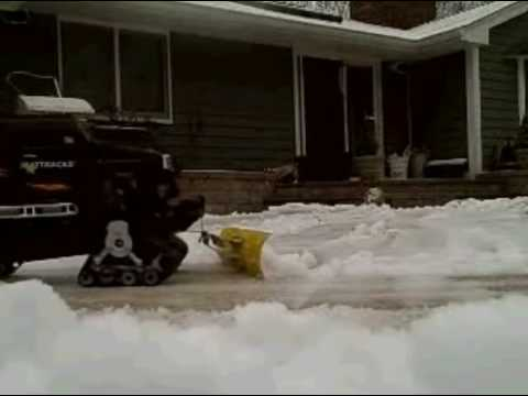 RC Mattrack Snow Plow!!