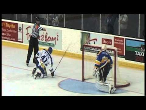 Highlights from EIHL game - Fife Flyers vs Coventry Blaze at Fife Ice Arena. Purchase full game DVD from the Flyers shop or online from www.fifeflyers.co.uk.