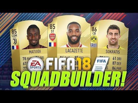 BEST 100K TEAM ON FIFA 18? w/ LACAZETTE, SOKRATIS & MATUIDI! (FIFA 18 Ultimate Team)