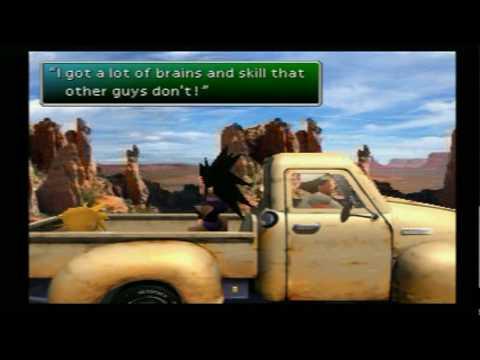 Final Fantasy VII P170 - Secret Hidden Scene