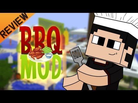 Minecraft para PC: BBQ Mod para 1.4.5. como Instalarlo y Review!! (Forge)