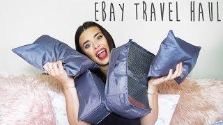 Ebay Travel Haul ~ Travel Hacks & Essentials | Rylie Lane