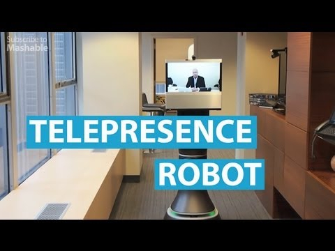 Up Close With the Ava 500 Telepresence Robot