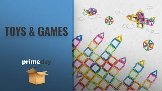 Save Big On Toys & Games Amazon Prime Day 2018: Newisland Magnetic Building Blocks, VFUNIX 66 Pcs