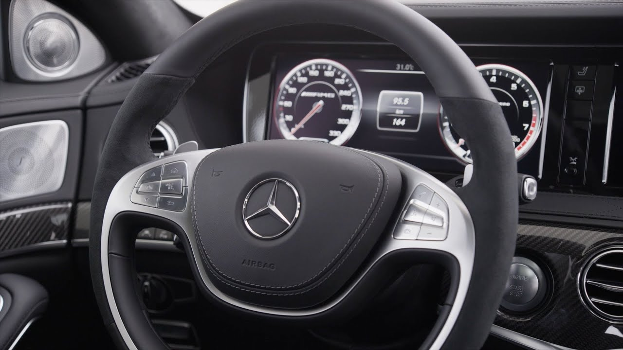 2014 Mercedes S 63 Amg Interior Youtube