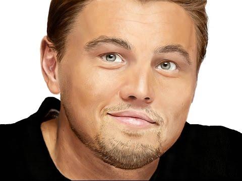 Leonardo DiCaprio - Speed Painting (#Photoshop)