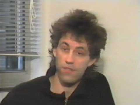 Kay Rush Interviews Bob Geldof for Italian TV, back in the '80's