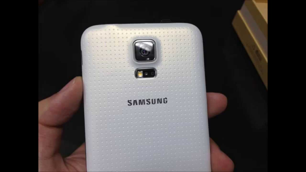 samsung galaxy s5 duos sm g900fd shimmery white color   youtube
