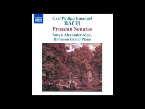 Carl Philipp Emanuel Bach - Prussian Sonata Movement 1 Andante