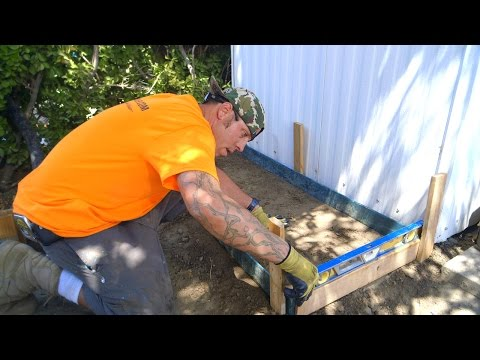 DIY Koi Pond Construction | Pond Filtration Station - Part 12
