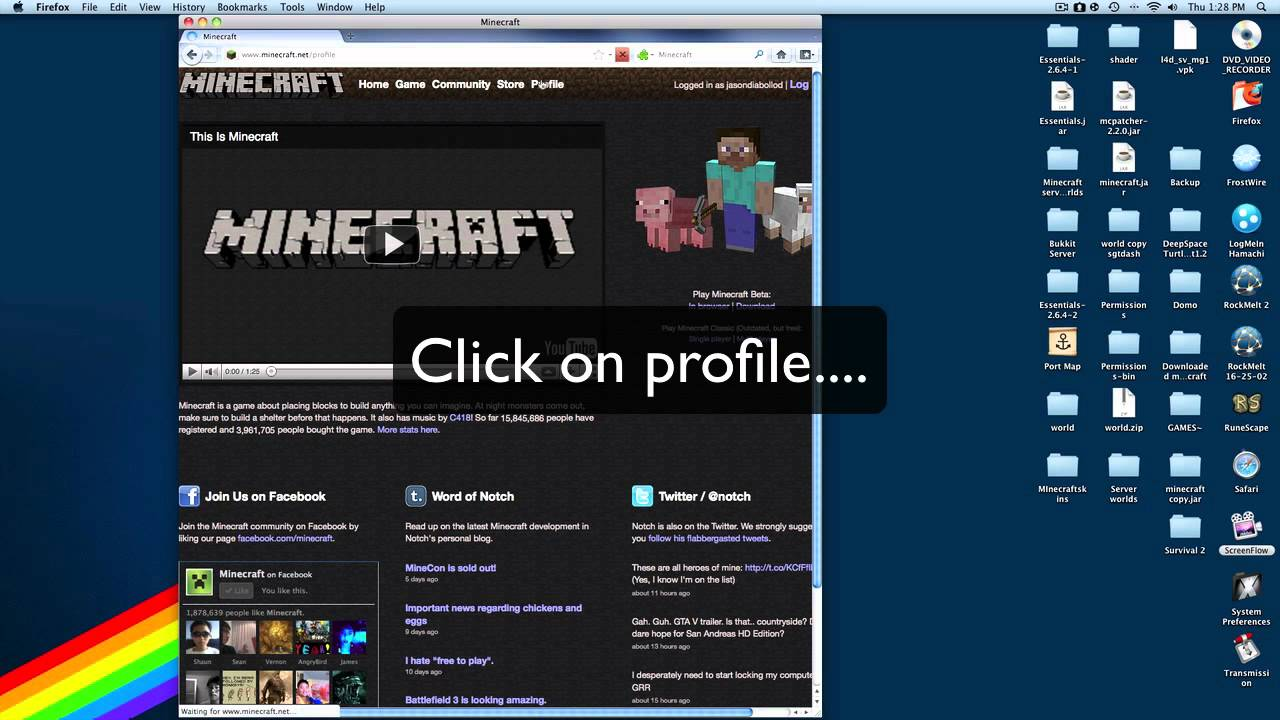 How To Download Minecraft Skins On Mac How To Download Minecraft - Minecraft skins fur mac
