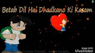 download lagu Betab Dil Hai Dhadkano Ki Kasam...whatsapp  Status... Govind gratis