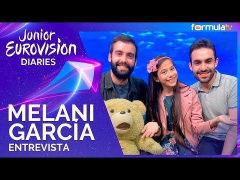 """Eurovisión Junior 2019: Melani García imagina la puesta en escena de """"Marte"""" - Entrevista"""