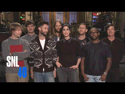 SNL Promo: Sarah Silverman and Maroon 5