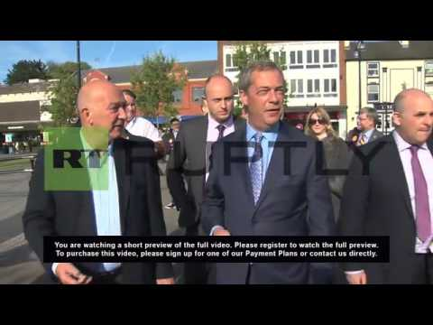 UK: Farage slams Tories for