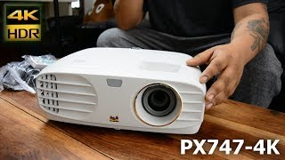 The ViewSonic PX747-4K Definitive Review - Best Amazon Budget 4K Projector