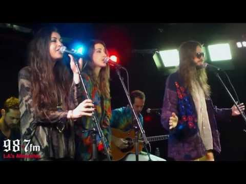 "Crystal Fighters ""Love Natural"" Live Acoustic Performance"