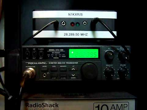 N1KXR/B - Ten Meter Amateur Radio Beacon In Action