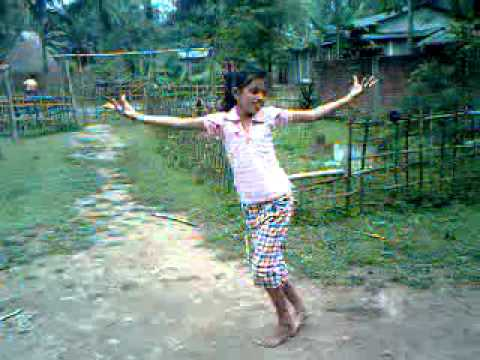 My Little Sister Dancing In Nepali Song At Margherita Assam.3gp video