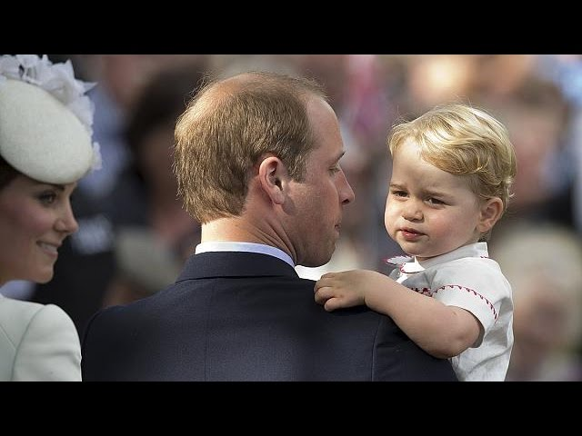 Hundreds gather for christening of Britain's Princess Charlotte - no comment