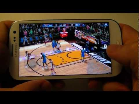 NBA 2K13 Gameplay Samsung Galaxy S3 (HD 1080p)